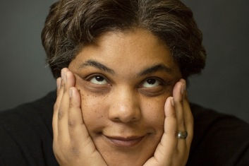Author Roxane Gay in Coleman hall on the campus of Eastern Illin